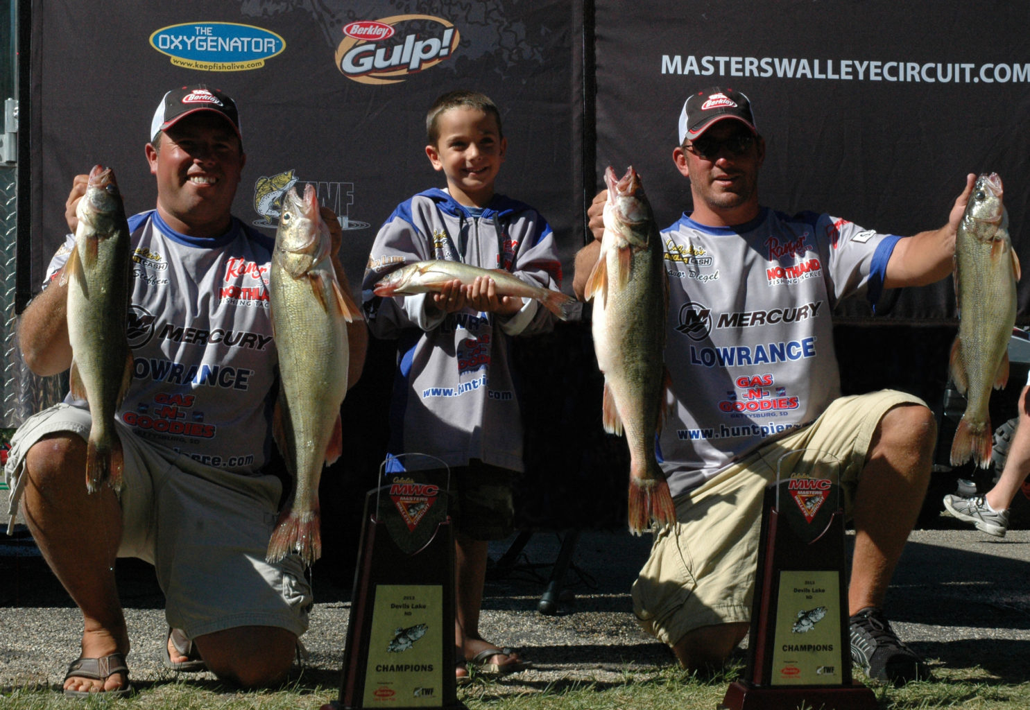 "Diegel, Steffen Win Cabela's Masters Walleye Circuit's ""Artificial"