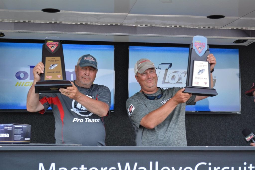 Hunts Win Cabela's Masters Walleye Circuit Lake Of The Woods